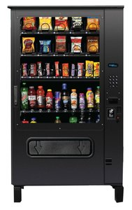 Outdoor Chill Center - Snack and Soda Vending Machine Combo