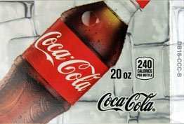 Large Coca Cola Classic Bottle Flavor Drink Labels