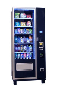 Compact 6S36 Snack and Soda Vending Machine Combo