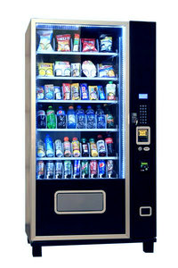 6S54 Snack and Soda Vending Machine Combo