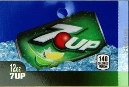 Large 7up Can Flavor Drink Labels
