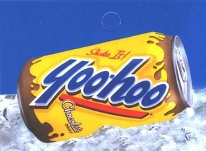 Large Yoohoo Can Flavor Drink Labels