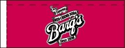Small Barq's Red Creme Soda Line Art Flavor Drink Labels