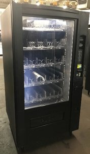 Refurbished Crane Glass Front National 780 Cold Food Vending Machines
