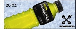 Small Powerade Ion Lemon Lime Bottle Flavor Drink Labels