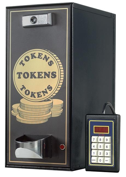 AC250 Token Dispenser | 4000 Token Capacity Token Dispenser | AC-250 Token Dispenser