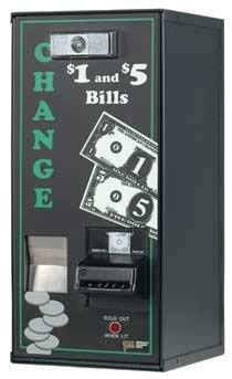 AC500 Coin Machines | $250 Capacity Coin Machines | AC-500 Front Loading Coin Machines