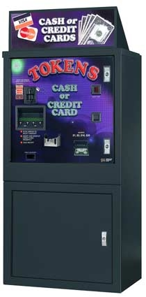 AC6007 Game Machines | 24,000 Token Capacity Game Machines | AC-6007 Front Loading Game Machines