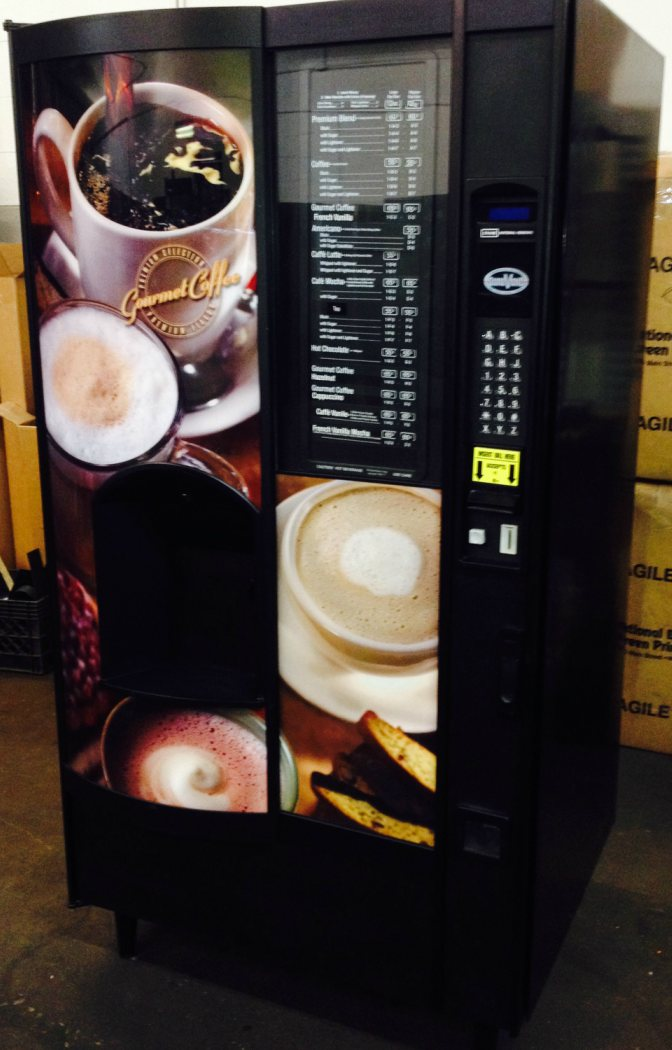 Refurbished Crane National NL677 / NL673 Coffee Vending Machines | Coffee Vending Machines | Remanufactured NL673 Coffee Vending Machines
