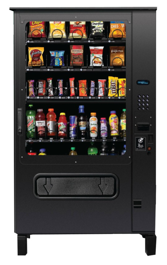 Outdoor Chill Center | Secure Snack & Soda Vending Machine Combo | Glassfront Vending Merchandiser