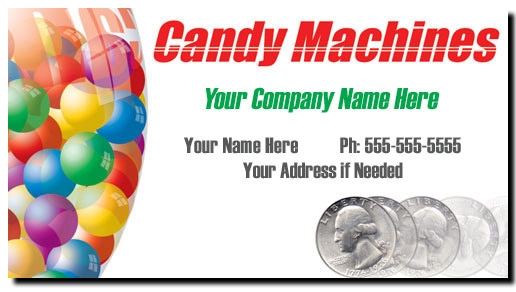 Bulk candy vending business cards full color bulk candy business cards colourmoves