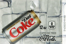 Large Caffeine Free Diet Coke Can Flavor Drink Labels | Caffeine Free Diet Coke Can Vending Machine Labels | Large Caffeine Free Diet Coke Can Flavor Strips