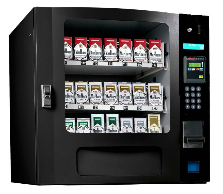 CIG 24 Selection Tobacco Machines | 24 Select Tobacco Machines | CIG-24 Table Top Glass Front Tobacco Machines