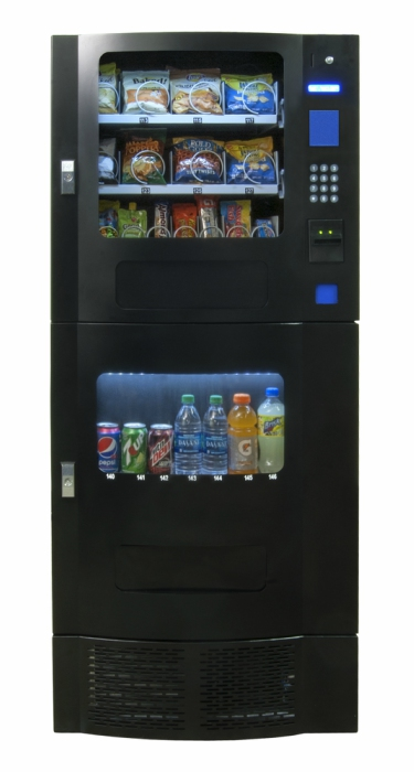Snak Mart SM-23 Black Combo Vending Machines | Snack and Soda Combo Machines | Free Shipping on Mega Combos