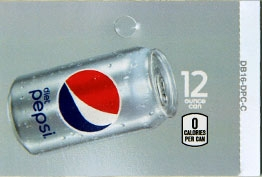 Large Diet Pepsi Can Flavor Drink Labels | Diet Pepsi Can Vending Machine Labels | Large Diet Pepsi Can Flavor Strips