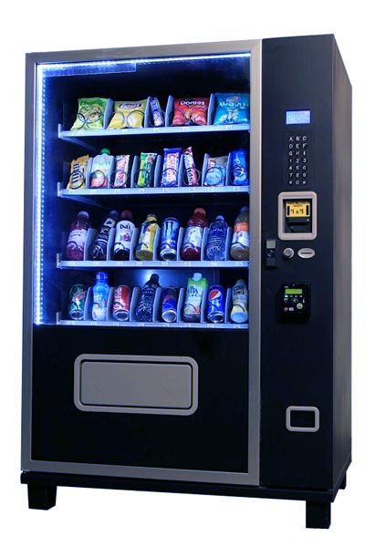 Glass Front 4S32 Snack and Soda Vending Machine| Combo Vending Machine | 3 in 1 Vending Combo