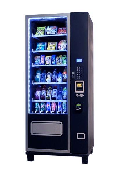 Compact 6s36 Snack And Soda Vending Machine Combo Combo Machines Slim Drink And Snack Machines