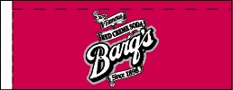 Small Barq's Red Creme Soda Line Art Flavor Drink Labels | Small Vending Machine Flavor Strips
