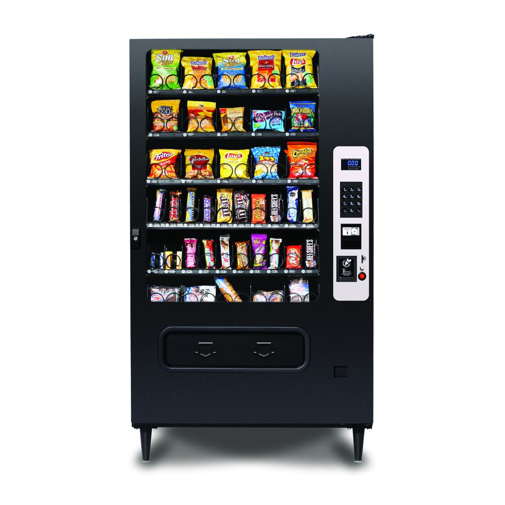 HR40 Candy Machines | 5 Wide Snack Candy Machines | HR-40 glass front Candy Machine