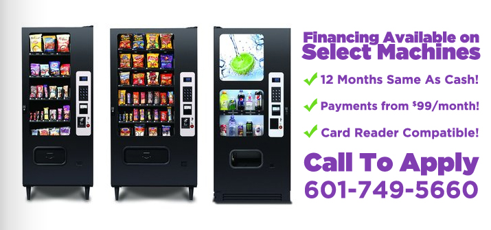 Financing Available on Select Machines